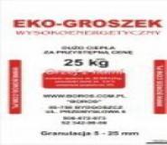 Eko-groszek wysokoenergetyczny 25kg